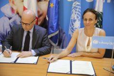 حكومة إيطاليا تدعم أعادة تأهيل المدارس الرسمية في لبنان